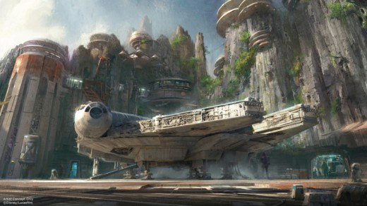 Star Wars Land concept 2