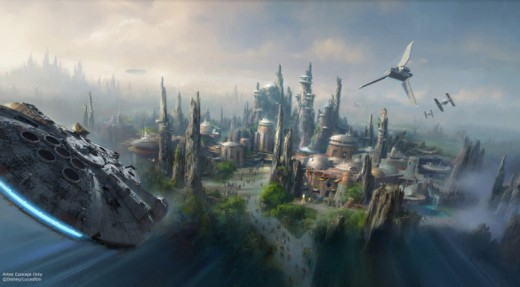 Star Wars Land concept 3